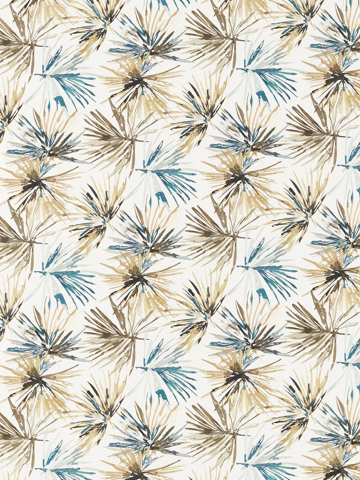 Buy Harlequin Aucuba Furnishing Fabric, Ink/Gold Online at johnlewis.com
