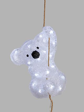 John Lewis & Partners LED Hanging Koala Light