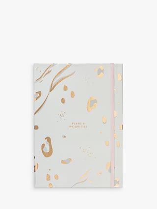 Busy B A5 Abstract Undated Year Planner & List Notebook