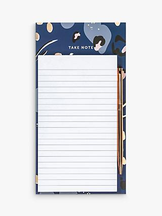 Busy B A5 Abstract Magnetic Notepad & Pen