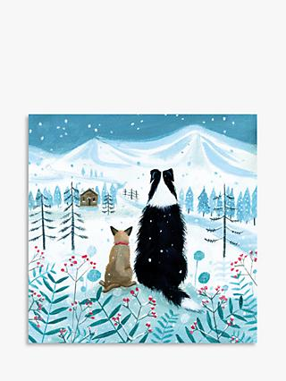 Museums & Galleries Christmas Snowfall Christmas Cards, Pack of 5