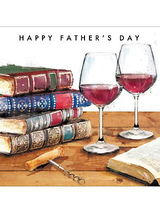 Cardmix Books & Wine Father's Day Card
