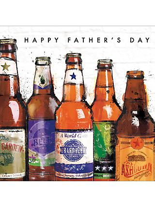 Cardmix Beer Bottles Father's Day Card