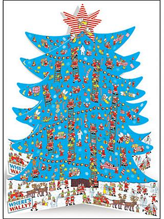 Woodmansterne Where's Wally 3D Advent Calendar