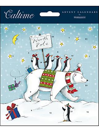 Woodmansterne North Pole Advent Calendar Card