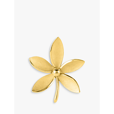 Susan Caplan Vintage Trifari Gold Plated Flower Brooch, Gold