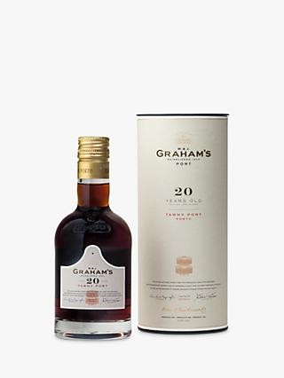 Graham's 20 Year Old Tawny Port, 20cl