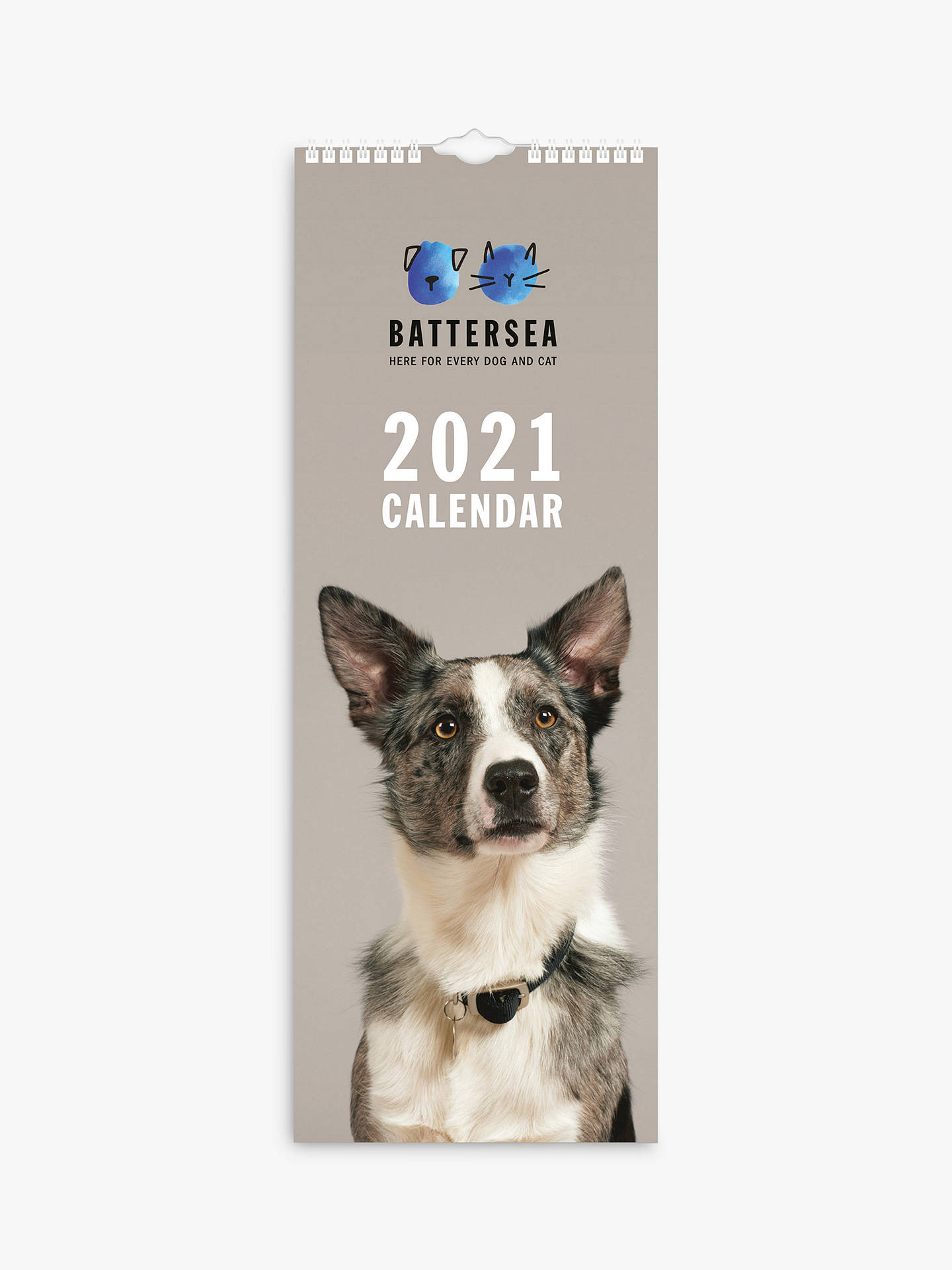 Battersea Dogs Cats Home Slim Calendar 2021 At John Lewis Partners