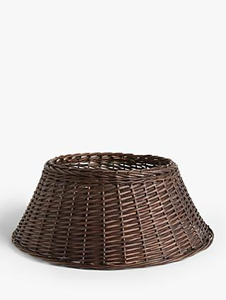 John Lewis & Partners Willow Tree Skirt, Espresso, Extra Large