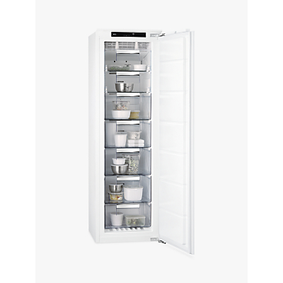 AEG ABK8182VNC Integrated Freezer, A++ Energy Rating, 55.6cm Wide, White
