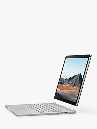 "Microsoft Surface Book 3 Laptop, Intel Core i7 Processor, 16GB RAM, 256GB SSD, 15"" PixelSense Display, Platinum"