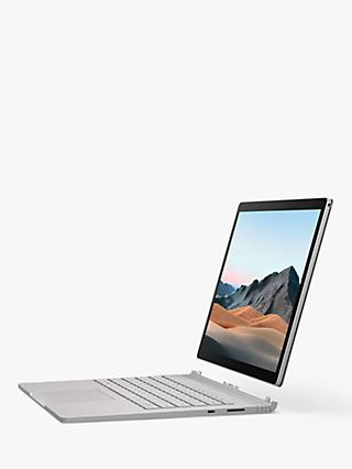 "Microsoft Surface Book 3 Laptop, Intel Core i7 Processor, 16GB RAM, 256GB SSD, 13.5"" PixelSense Display, Platinum"