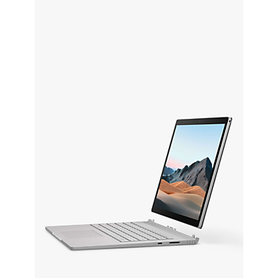 Image of Microsoft Surface Book 3 Laptop, Intel Core i7 Processor, 32GB RAM, 512GB SSD, 13.5 PixelSense Display, Platinum