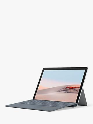 "Microsoft Surface Go 2, Intel Pentium Gold, 4GB RAM, 64GB eMMC, 10.5"" PixelSense Display, Platinum"