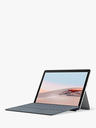 "Microsoft Surface Go 2, Intel Pentium Gold, 8GB RAM, 128GB SSD, 10.5"" PixelSense Display, Platinum"