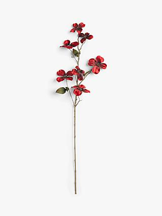 John Lewis & Partners Japonism Dogwood Spray, Red