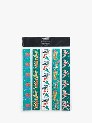 John Lewis & Partners Animal Paper Chains, Multi