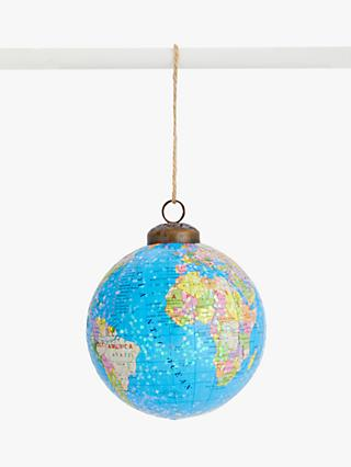 John Lewis & Partners Pop Art Globe Bauble, Multi
