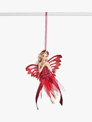 Buy John Lewis & Partners Art of Japan Fairy Tree Decoration, Red Online at johnlewis.com