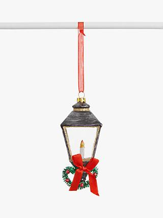 John Lewis & Partners Art of Japan Street Lamp Bauble, Multi