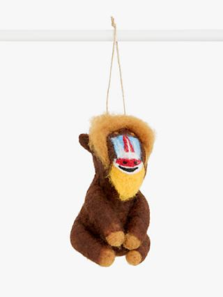 John Lewis & Partners Post Impressionism Mandrill Tree Decoration