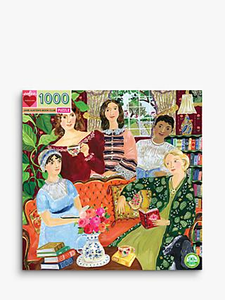 eeBoo Jane Austen's Book Club Jigsaw Puzzle, 1000 Pieces
