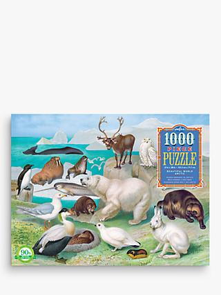 eeBoo Beautiful Arctic World Arctic Jigsaw Puzzle, 1000 Pieces