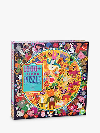 eeBoo Square Circus Jigsaw Puzzle, 1000 Pieces