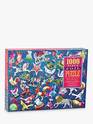 eeBoo Shiny Ornaments Jigsaw Puzzle, 1000 Pieces