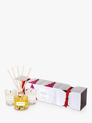 John Lewis & Partners Winter Spice Home Fragrance Gift Set