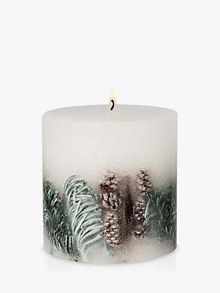 John Lewis & Partners Frosted Spruce Inclusion Scented Candle, 578g
