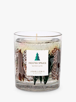 Buy John Lewis & Partners Frosted Spruce Gel Scented Candle, 616g Online at johnlewis.com