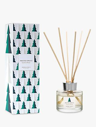 John Lewis & Partners Frosted Spruce Reed Diffuser, 120ml