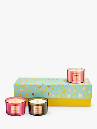 Neom Organics London Scents of Wellbeing Scented Candle Gift Set