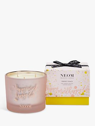 Neom Organics London Perfect Peace 3 Wick Scented Candle, 420g