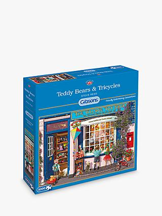 Gibsons Teddy Bears & Tricycles Jigsaw Puzzle, 1000 Pieces