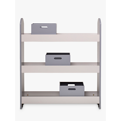 Bloomingville MINI Bookcase and Storage Boxes, Grey