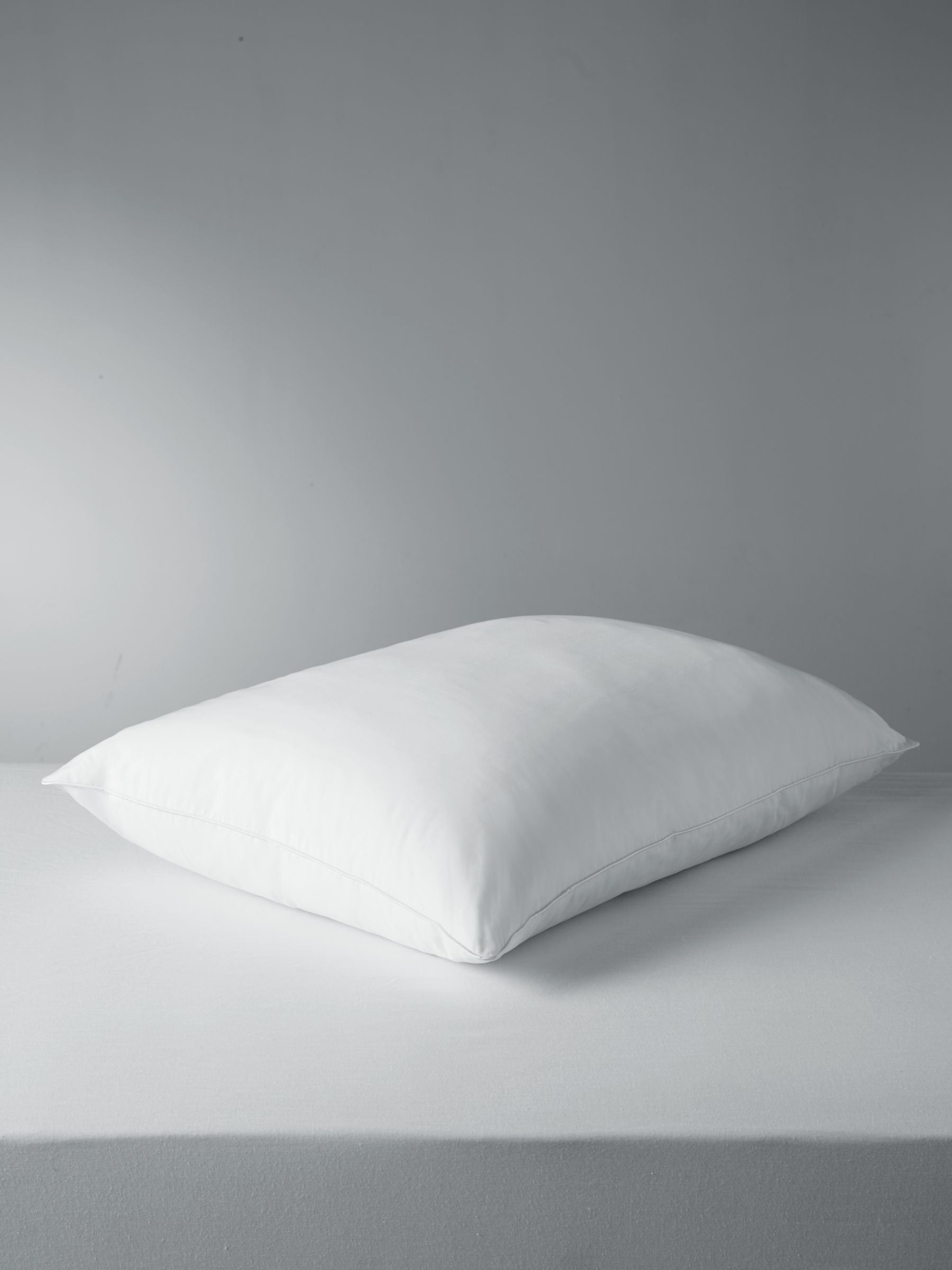 John Lewis & Partners Synthetic Collection Temperature Regulating Standard Pillow with 37.5® Technology, Soft/Medium