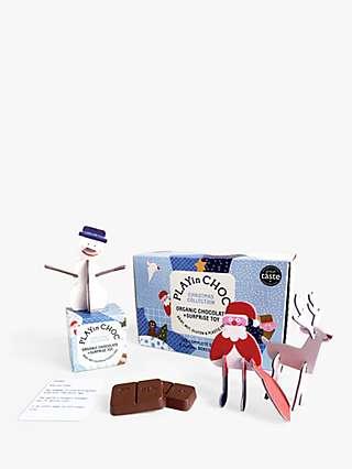 PLAYin CHOC Organic Chocolate Christmas Set, 290g