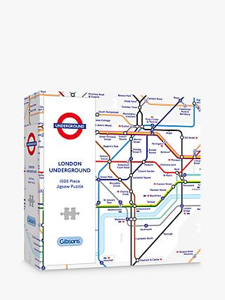Gibsons TFL London Underground Tube Map Jigsaw Puzzle, 1000 Pieces