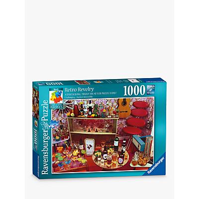 Ravensburger Retro Revelry Jigsaw Puzzle, 1000 Pieces