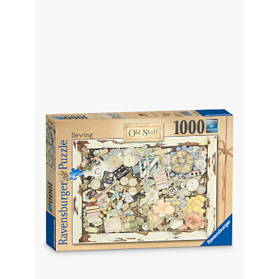 Ravensburger Sewing Old Stuff No.2 Jigsaw Puzzle, 1000 Pieces