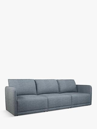 Bundle Range, John Lewis & Partners Bundle Large 3 Seater Sofa, Matilda Navy