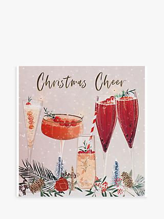 Belly Button Designs Drinks Christmas Card