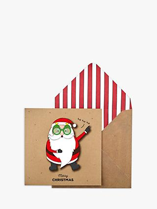 Tache Crafts Groovy Santa Christmas Card