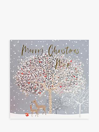 Belly Button Designs Deers & Tree Mum Christmas Card