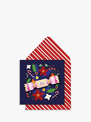 Tache Crafts Cracker Christmas Card