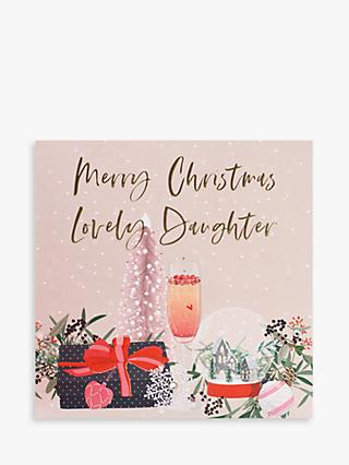 Belly Button Designs Gift Lovely Daughter Christmas Card