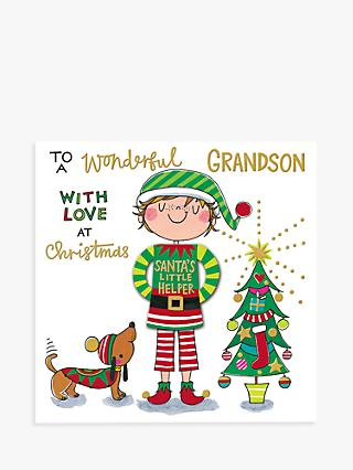 Rachel Ellen Helper Grandson Christmas Card