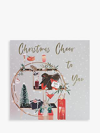 Belly Button Designs Cheer To You All Christmas Card